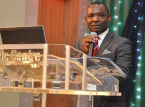 Mr Humphrey, CEO IIA Nigeria.