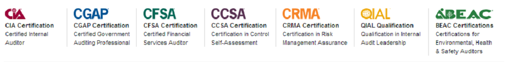 Certifications – IIA