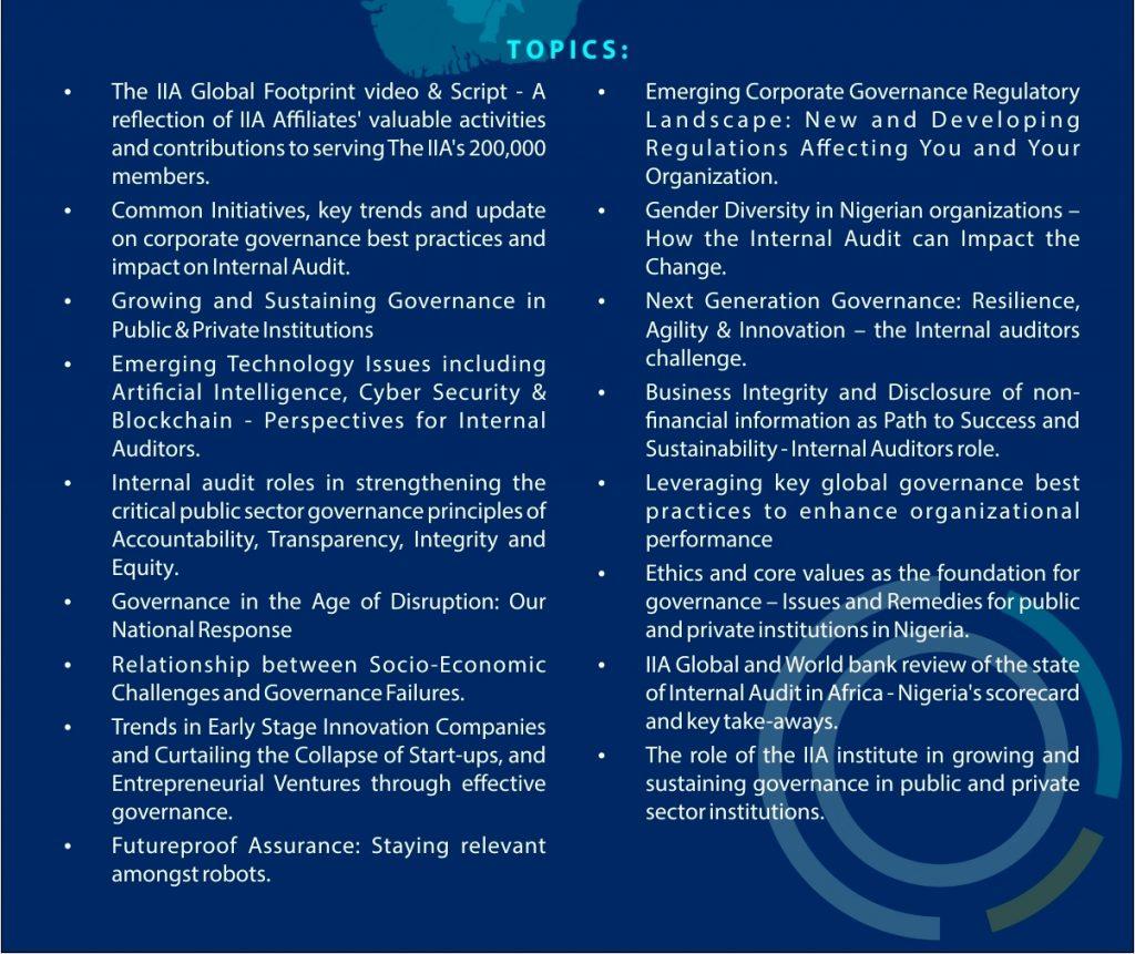 Institute of Internal Auditors (IIA), Nigeria – A
